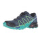 Salomon Speedcross 4 Womens Trail Running Shoe - Slate Blue / Spa Blue / Fresh Green