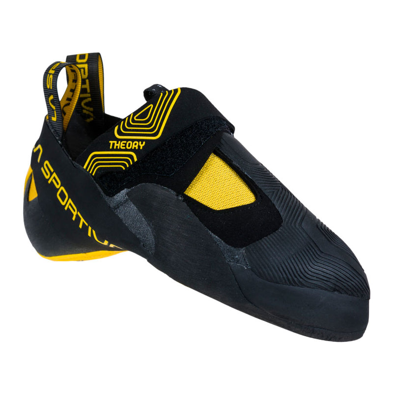 La Sportiva Theory Climbing Shoe - Black/Yellow