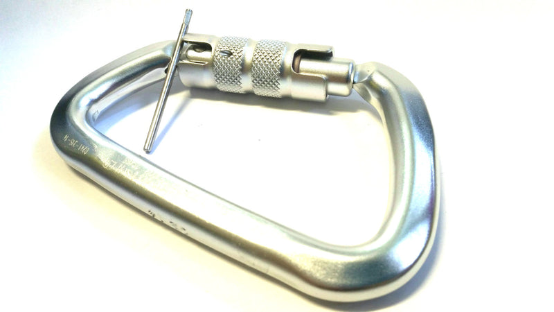 Ferno Alloy Triple lock Carabiner With Captive Pin