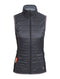 Icebreaker Helix Vest Womens Top - Black/Monsoon/Monsoon