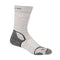Icebreaker Hike + Lite Crew Womens Socks - Blizzard Heather/White/Oil