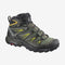 Salomon X Ultra 3 Mid GTX Mens Hiking Boot - Castor Gray/Black/Green Sulphur