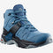 Salomon X Ultra 4 MID GTX Womens Hiking Boot - Copen Blue/Black/Dark Denim