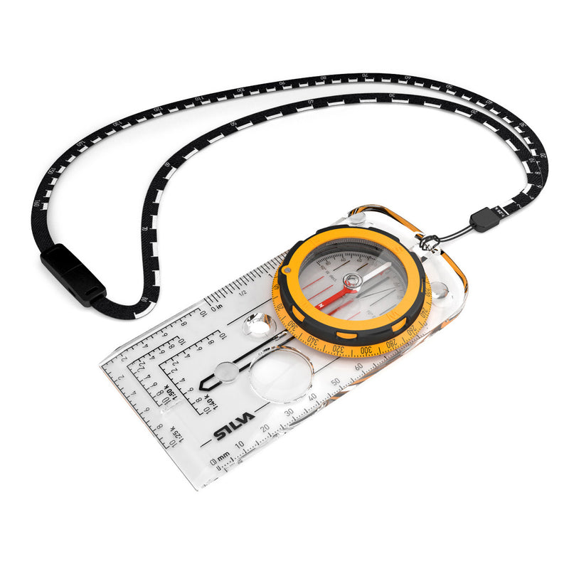 Silva Expedition Map Scale Compass with Lanyard