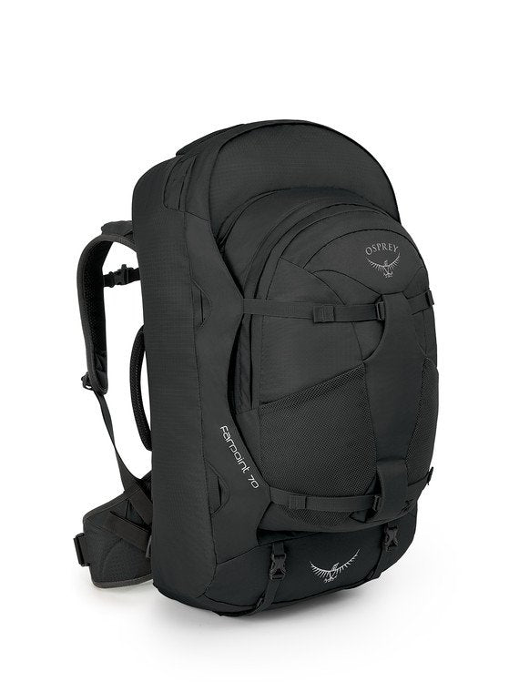 Osprey Farpoint 70 Litre Mens Travel Backpack - Volcanic Grey