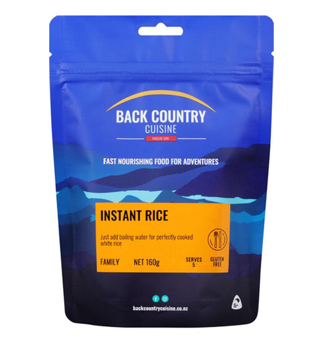Back Country Freeze Dried Food - Instant Rice