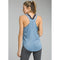 prAna Revere Womens Tank Top - Steel Blue