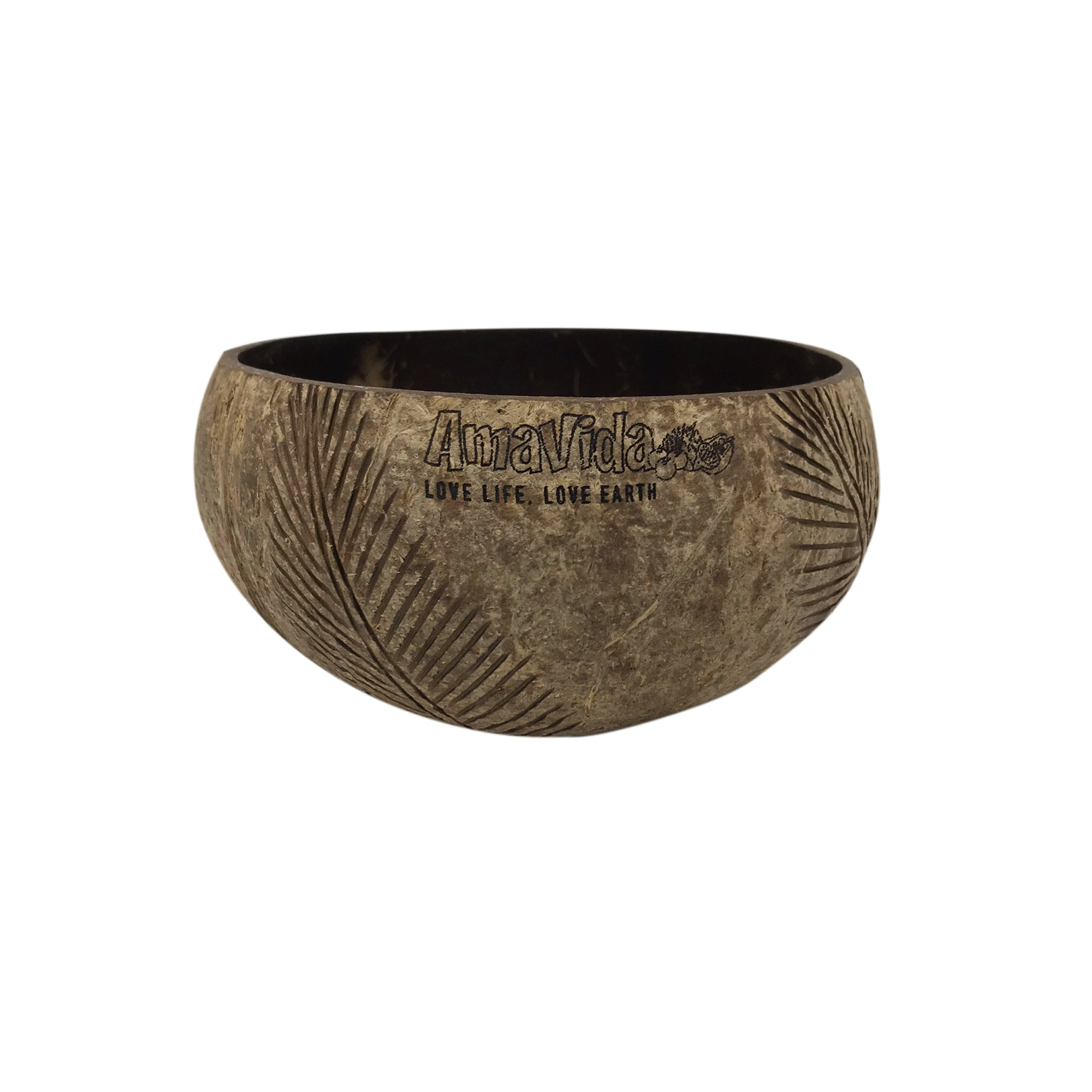 Coconut Shell Bowl (Natural)