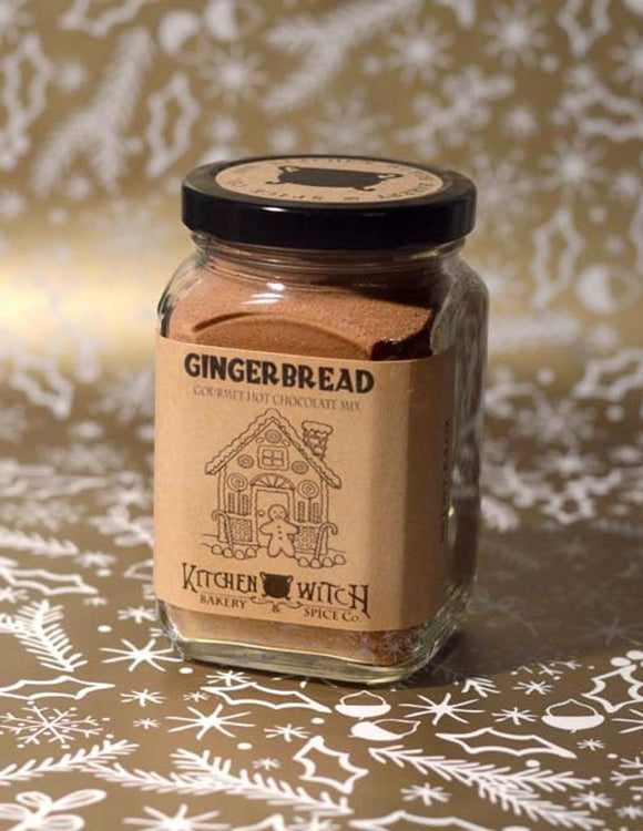 Gingerbread Cocoa - Gourmet Hot Chocolate Mix - Vegan Artisan Cocoa