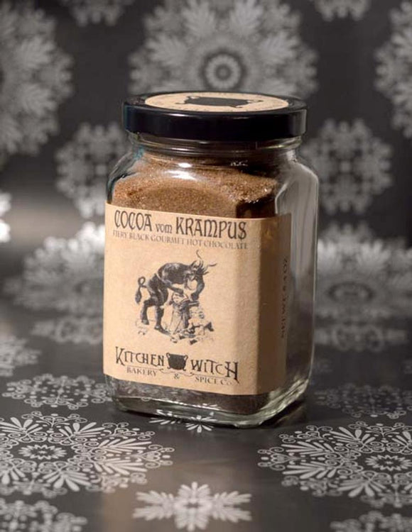 Cocoa vom Krampus - Fiery Black Gourmet Hot Chocolate Mix - Seasonal Artisan Cocoa