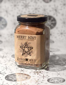 Merry Mint Cocoa - Peppermint Gourmet Hot Chocolate Mix - Vegan Artisan Cocoa