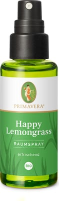 Primavera Happy Lemongrass Airspray - økologisk 50 ml