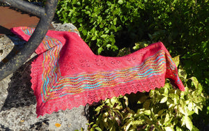Fiona Morris Half Hap Shawl Zoom Workshop
