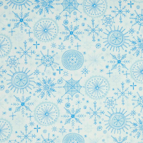 Blank Quilting By Golly Get Jolly 9562-01 White
