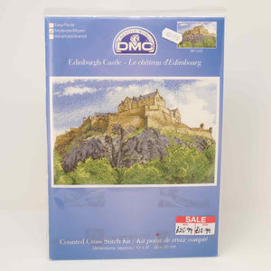 DMC - Edinburgh Castle Counted Cross Stitch BK1345