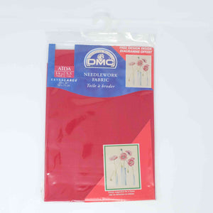 DMC Aida 14 count DC 18 321 Red