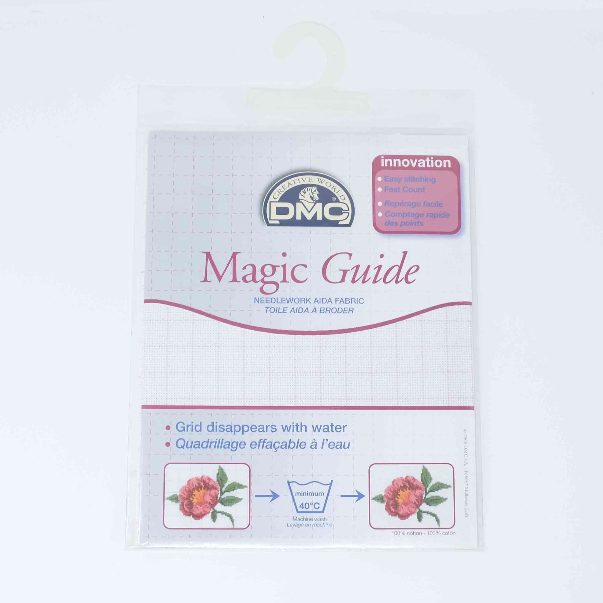 DMC Aida 14 count DC 27 MG Magic Guide