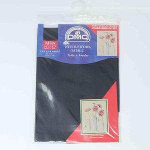 DMC Aida 14 count DC 28 310 Black