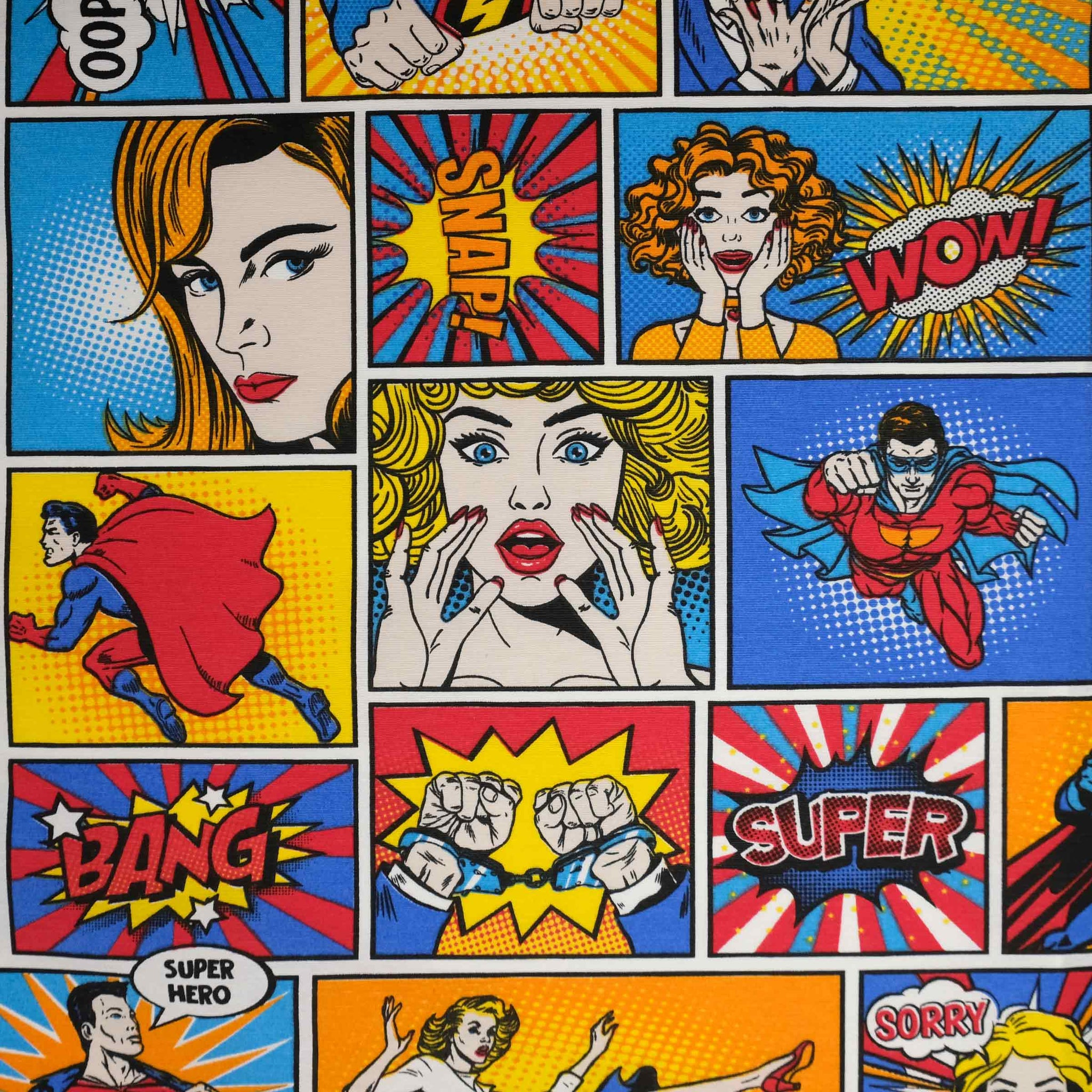 Fryetts Fabrics - Comic