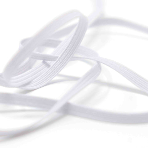Hemline Premium Quality Braided Elastic (5mm)