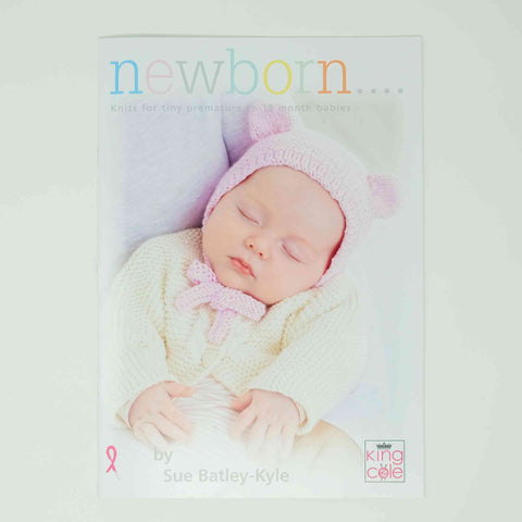 King Cole Pattern Newborn Front