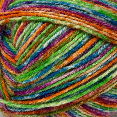 King Cole Zig Zag (4ply) tigerlily