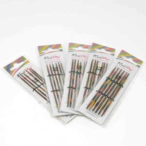 Knit Pro - Symfonie Wooden Double Pointed Knitting Needles 10cm