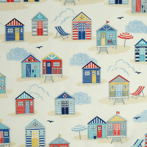 Makower Sail Away Beach Huts 2209 Q