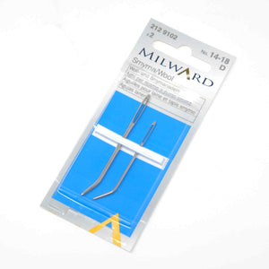 Milward - Wool Needles Assorted set of 2 bent