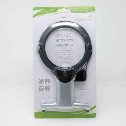 PURElite - 2in1 LED Hands-free Magnifier