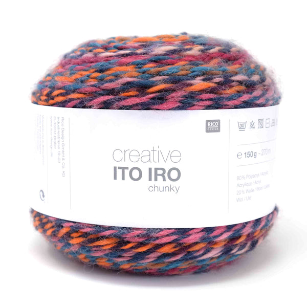 Rico Creative Ito Iro Chunky 004 Berry Mix
