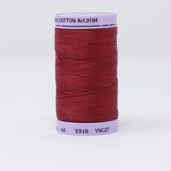 Mettler - Silk-Finish Cotton 50 - 0918 Cranberry