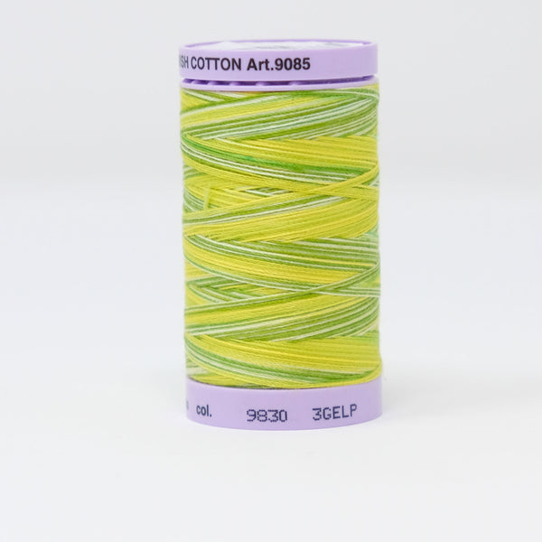Mettler - Silk-Finish Cotton Multi 50 - 9830 Citrus Twist