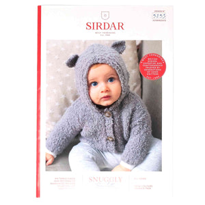 Sirdar Snuggly Bouclette Pattern 5253 Bear Ears Cardigan