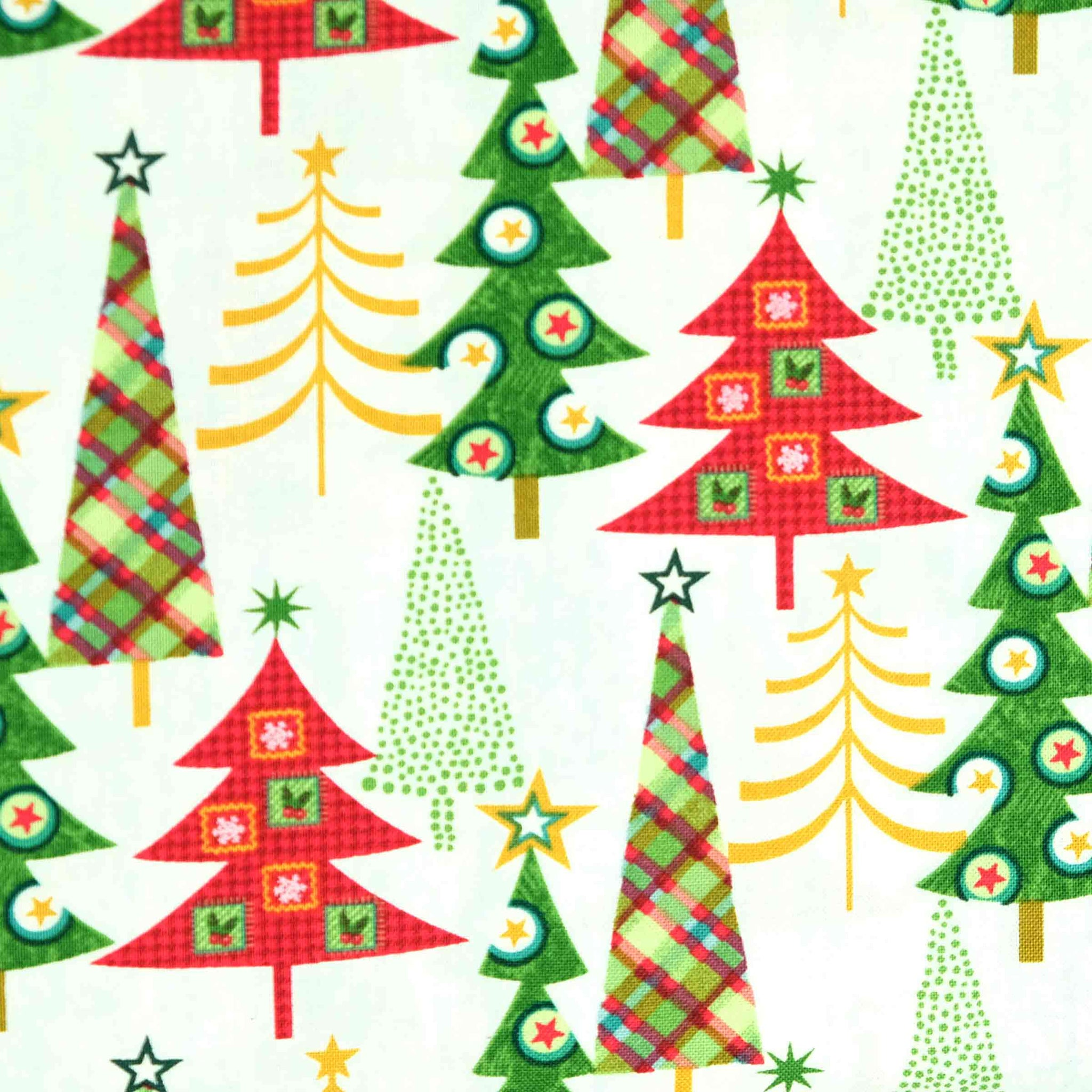Studio E Fabrics 4752 Holly Jolly Christmas 4652-16 White