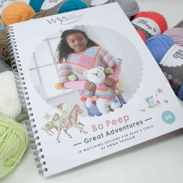 West Yorkshire Spinners Bo Peep Pattern Great Adventures