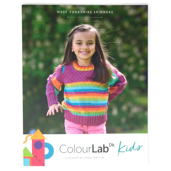 WYS ColourLab DK Kids Pattern Book Cover