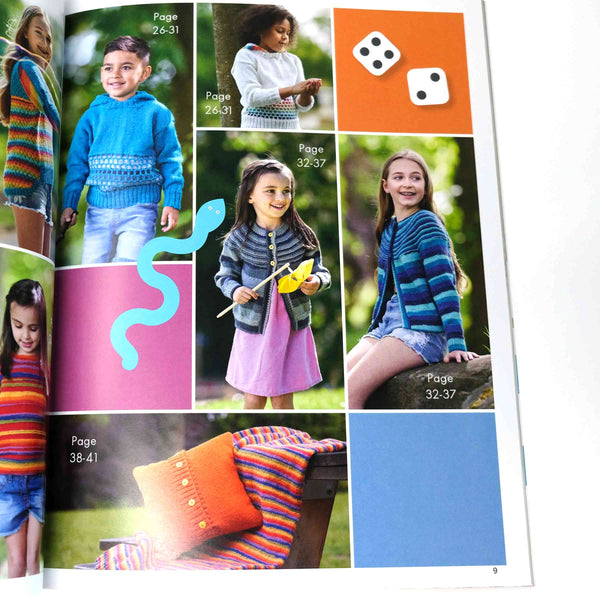 WYS ColourLab DK Kids Pattern Book index