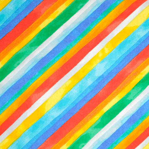 Windham Fabrics Quilt Back 52480 Rainbow Stripe