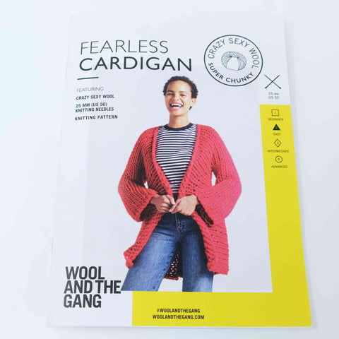 Wool and The Gang Fearless Cardigan