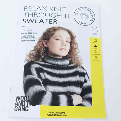Wool and The Gang Relax Knit Through it Sweater
