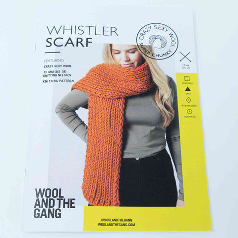 Wool and The Gang Whistler Scarf
