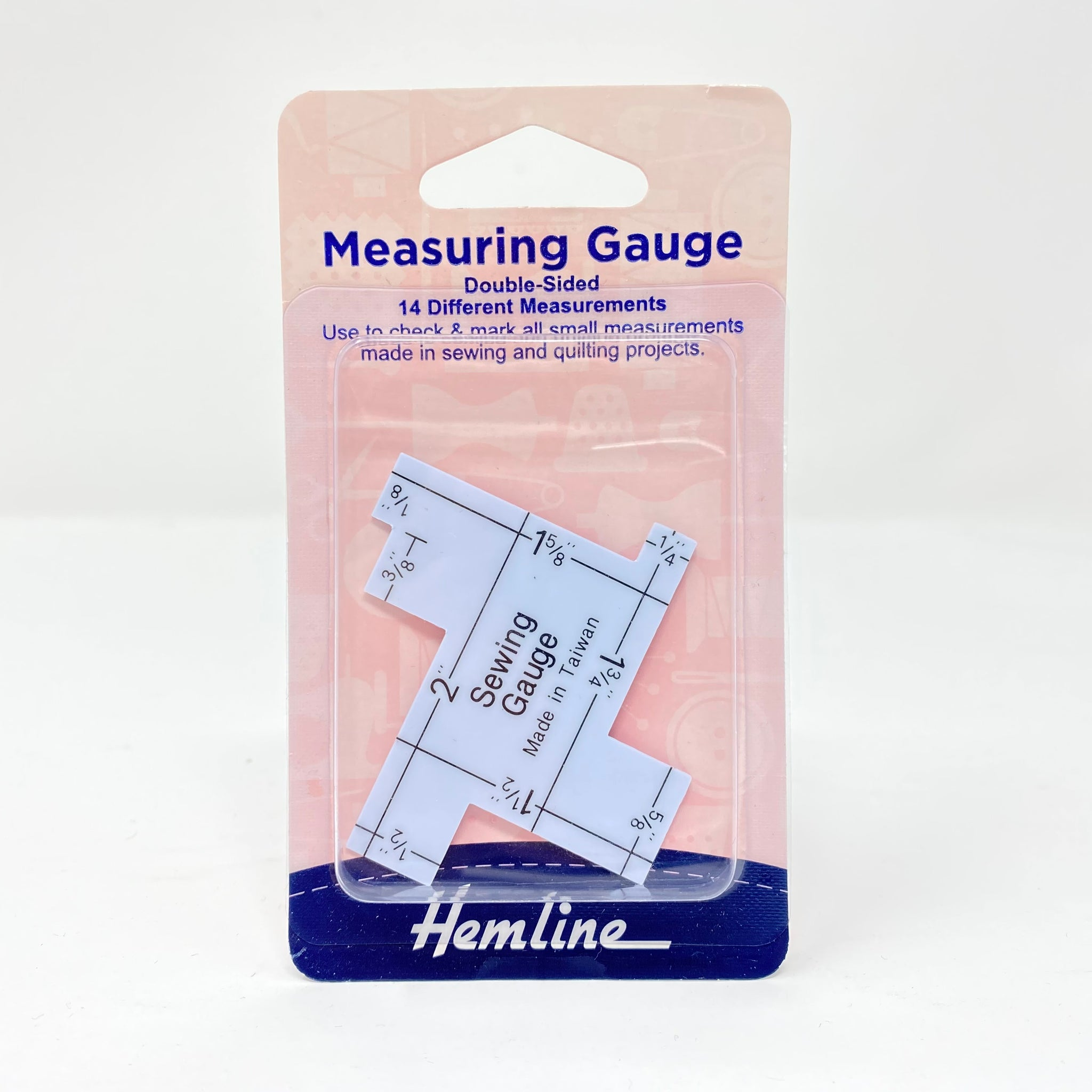 Hemline - Measuring Gauge Double Sided