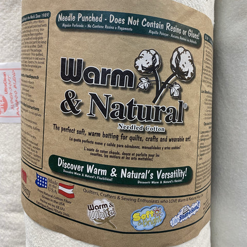 The Warm Company - Warm & Natural Needled Cotton Wadding