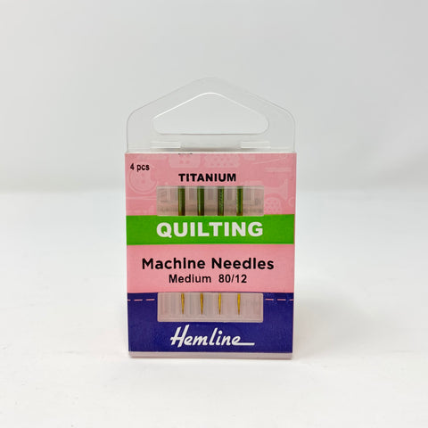 Hemline - Machine Needles Quilting 80/12