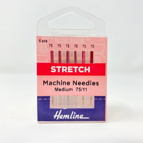Hemline - Machine Needles Stretch 75/11