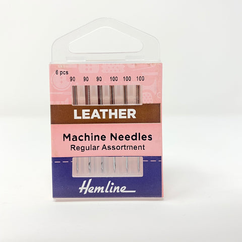 Hemline - Machine Needles Leather Regular Assortment