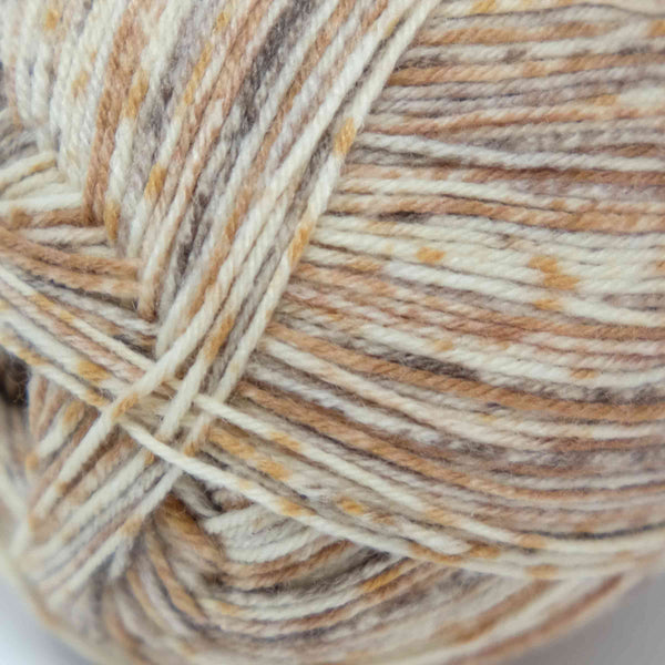 Rico Superba Bamboo Superwash (4ply) brown mix 025