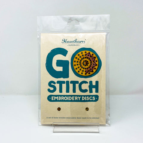 Hawthorn Go Stitch Embroidery Disc