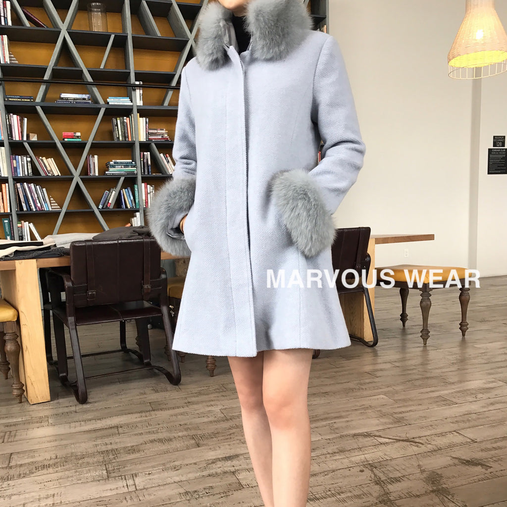 KAWAII Fluffy Coat-MARVOUS WEAR